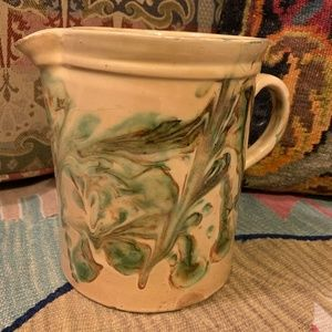 18th-19th-Century Antique French Pitcher